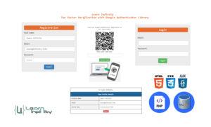 Two-Factor Verification utilizing Google Authenticator Library