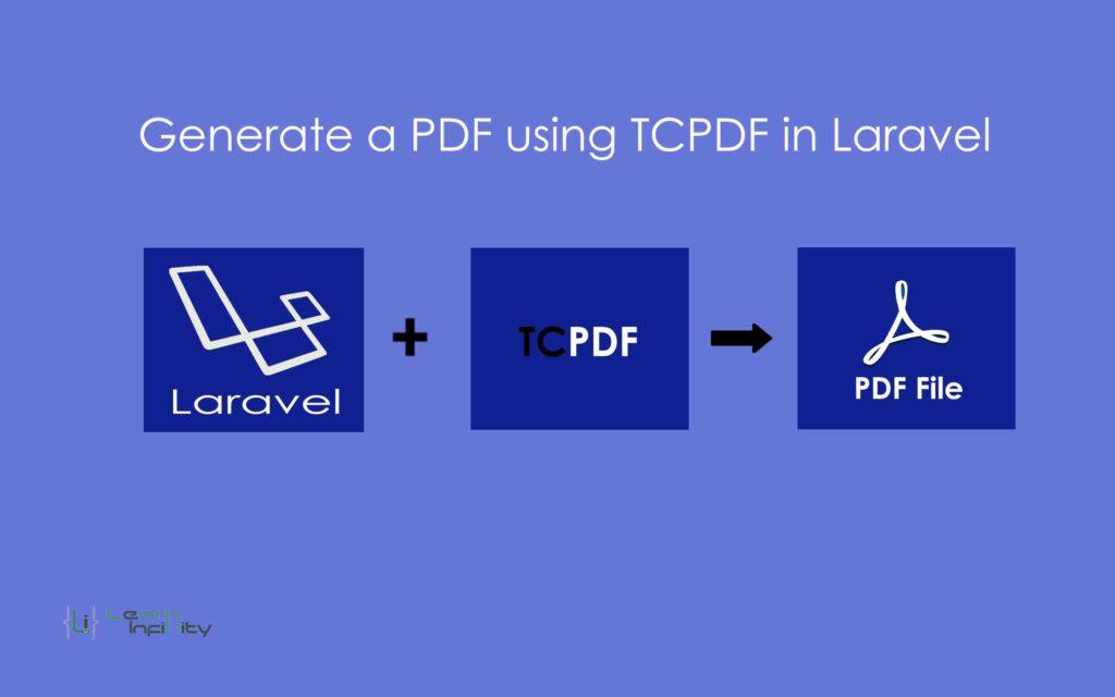 Generate a PDF using TCPDF in laravel