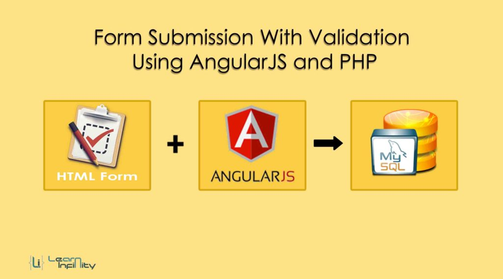 Form Submission With Validation Using AngularJS and PHP