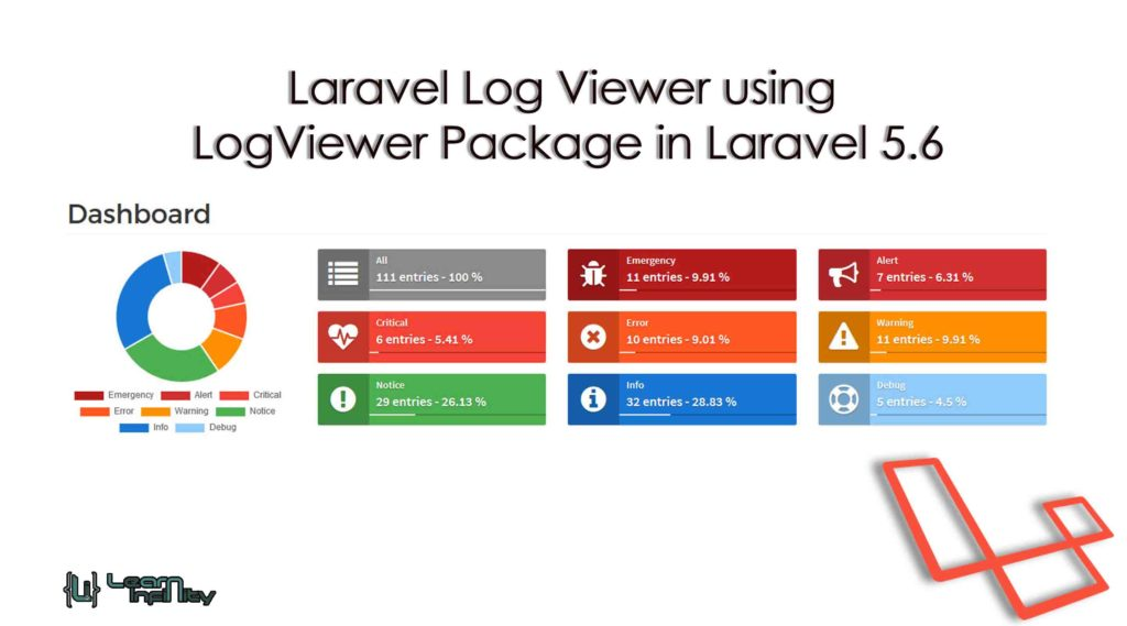 Laravel Log Viewer using LogViewer Package in Laravel 5